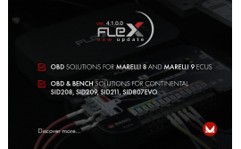 OBD solutions for Marelli 8 and Marelli 9 ECUs