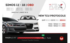 OBD solution for 7G Tronic TCU and for GS19 on bench