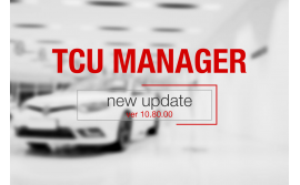 TCU MANAGER ver 10.80.00 released